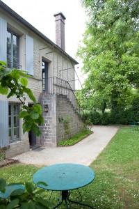 La maison de la famille Renoir, à Essoyes.
