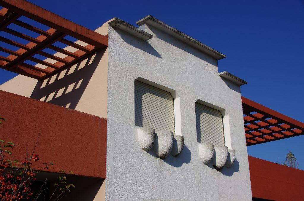 La cité Frugès, à Pessac, figure parmi les 17 créations de Le Corbusier retenues.