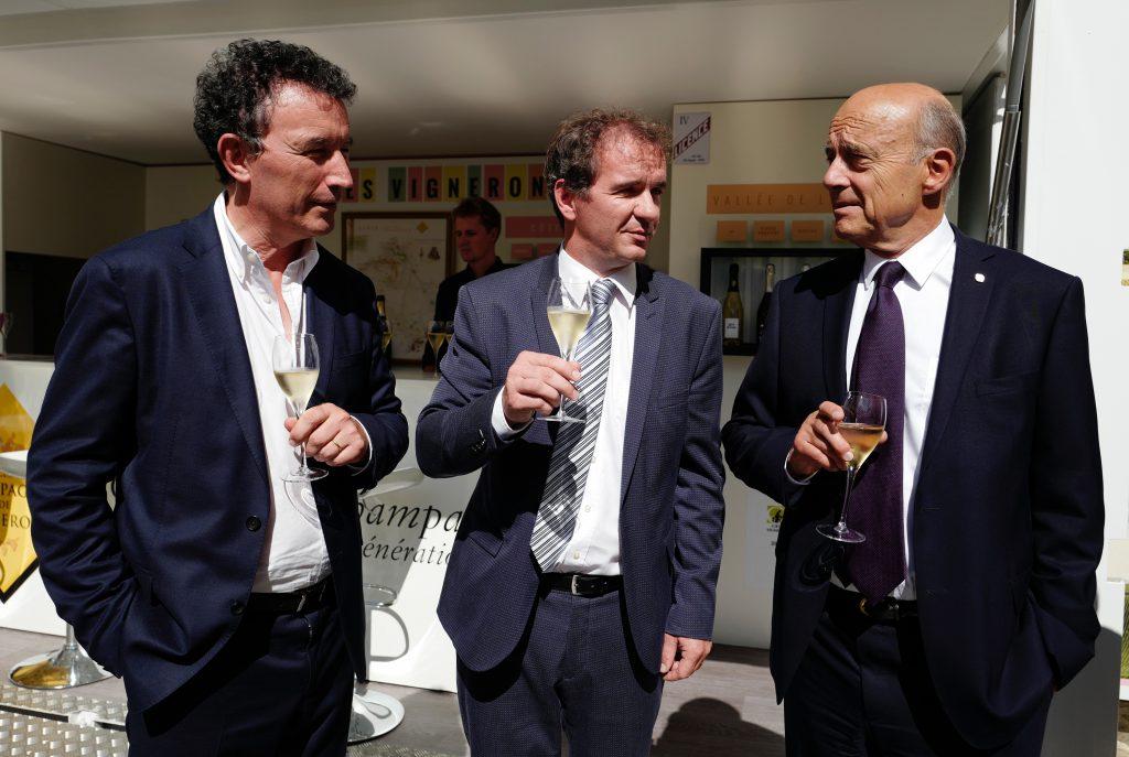 Franck Leroy, Maxime Toubart, Alain Juppé