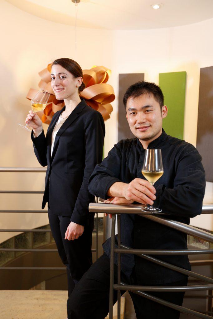 Le nouvellement étoilé mise sur les champagnes de vignerons