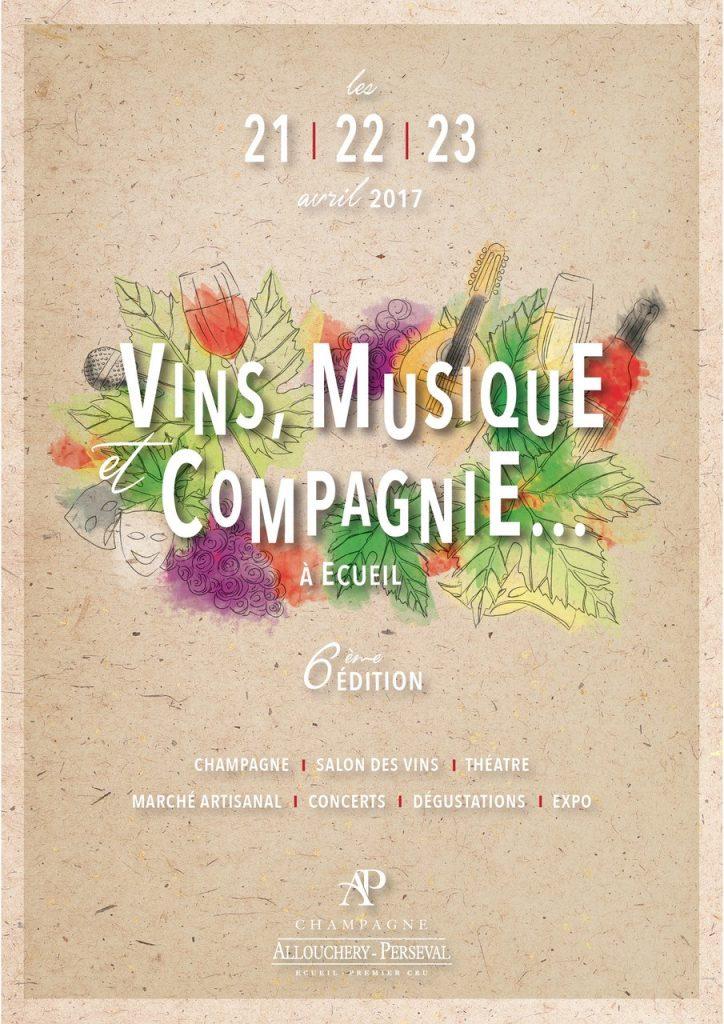 Vins, musique et compagnie à Ecueil