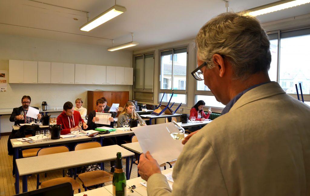 Des lycéens de Crézancy, jurés au Concours Général Agricole