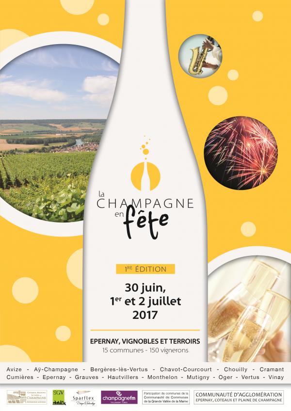 La Champagne en fête, première édition