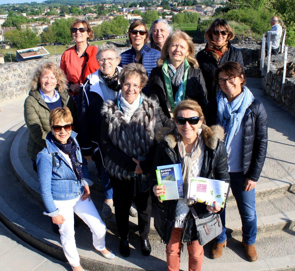 Les viticultrices de la Champagne en visite à Bordeaux