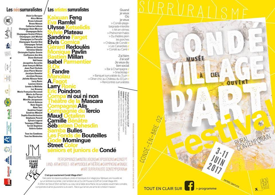 Le «surruralisme» en fête à Condé-en-Brie
