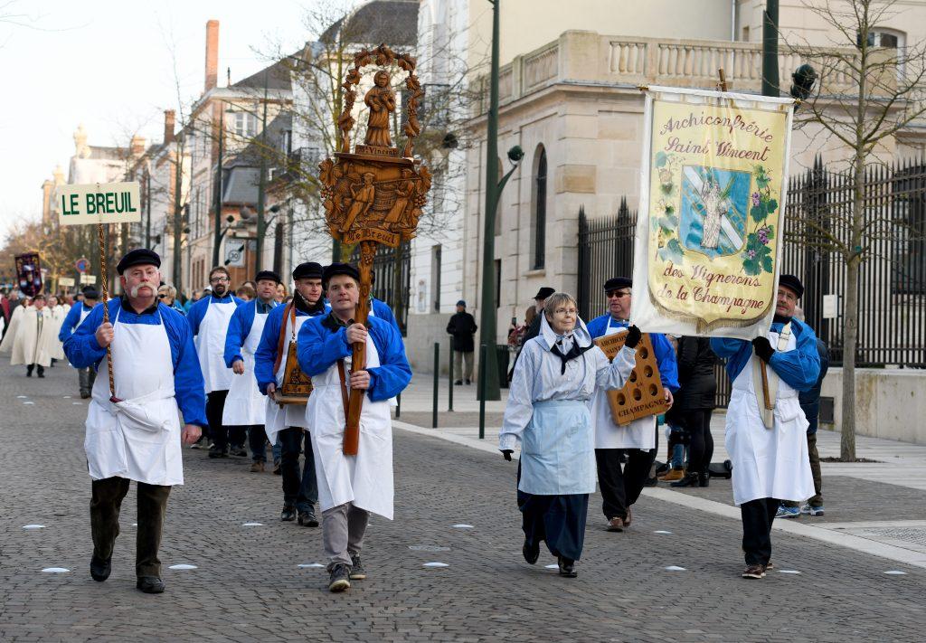 Saint Vincent rassembleur