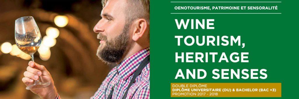 Un nouveau double diplôme pour former les professionnels de l'oenotourisme