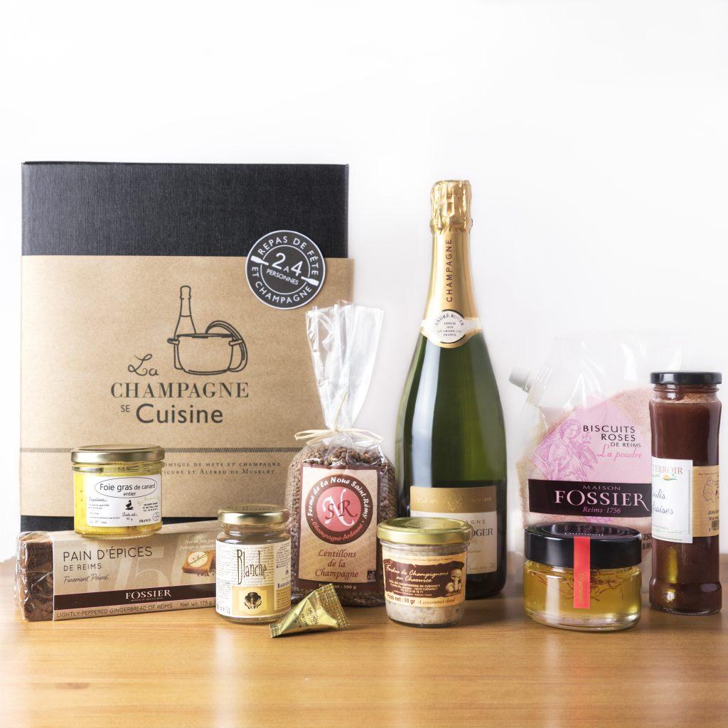 Lancement d'un coffret gourmand dédié à la Champagne