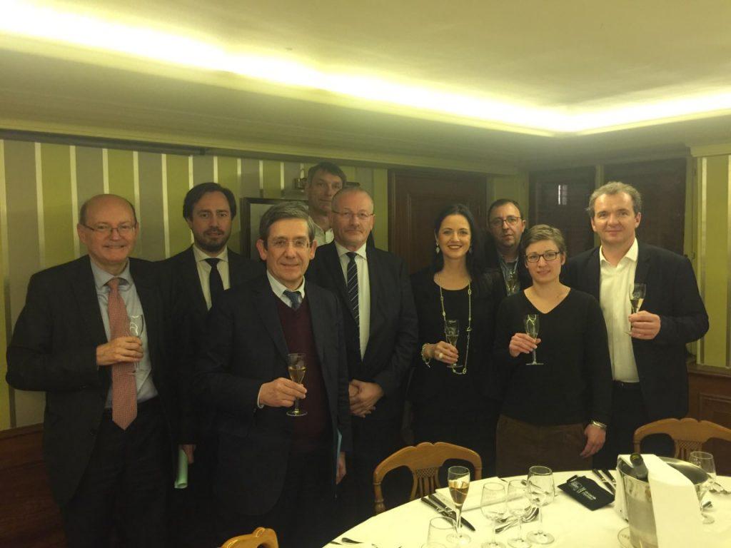 Les élus du SGV rencontrent les parlementaires