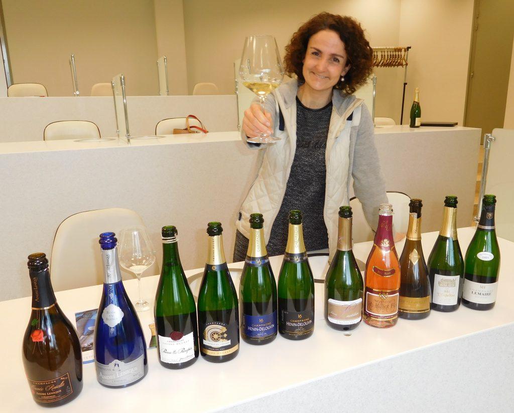 Des bulles de vignerons au Champagne Tasting