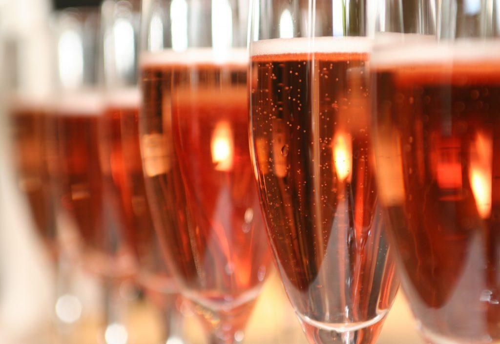 Le champagne rosé tient son rang