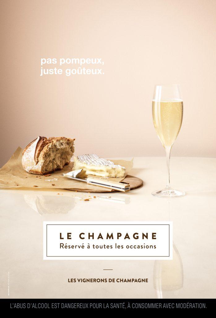 Le champagne exceptionnel, mais pas exceptionnellement
