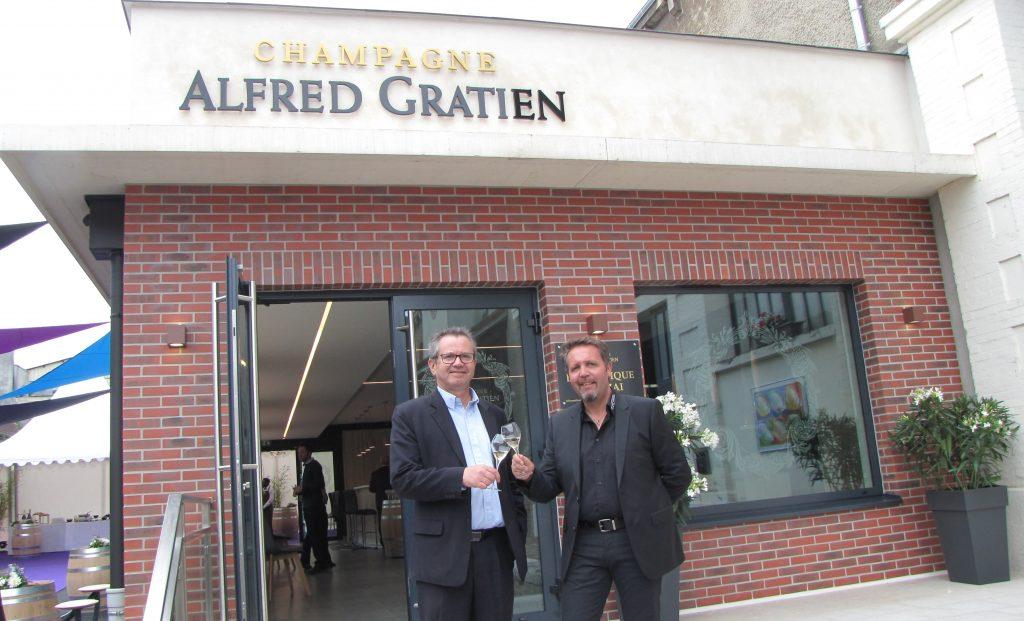 Nouvel espace d'accueil chez Alfred Gratien