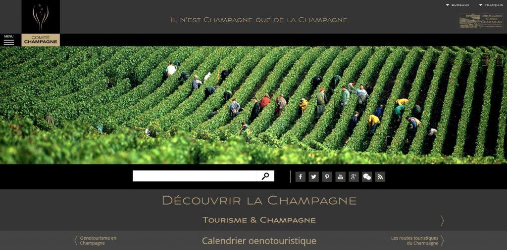 Le nouveau calendrier œnotouristique du Comité Champagne