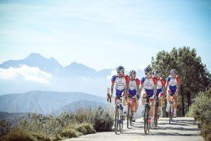 24 janvier 2018 - Tournage Col de Rates avec le nouveau maillot Groupama FDJ -