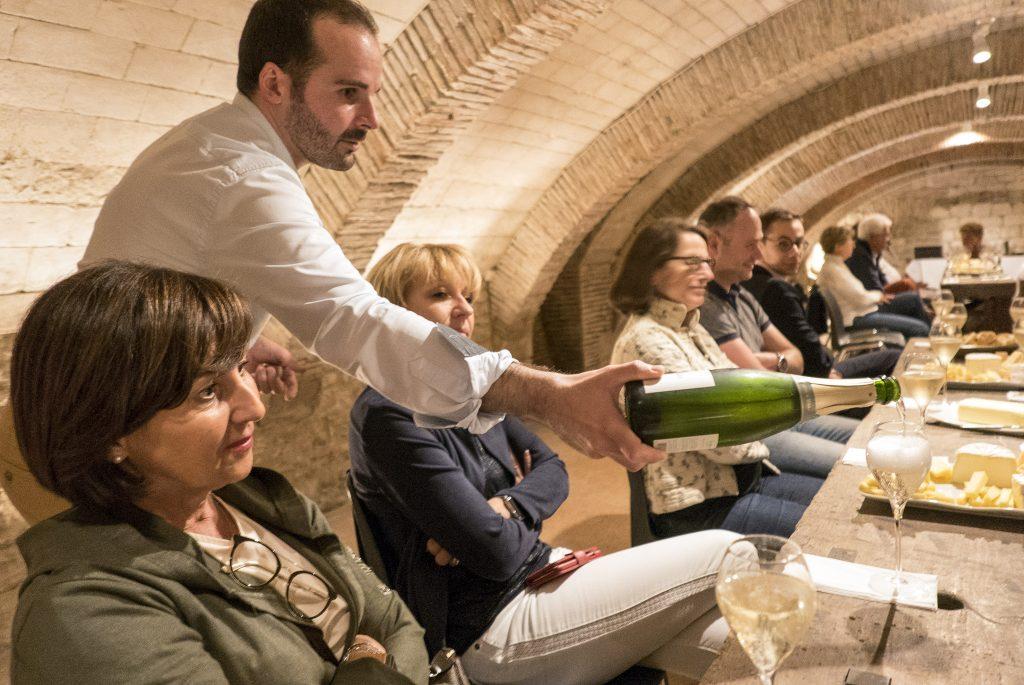 Patrimoine, champagne et fromage : sacré compagnonnage !