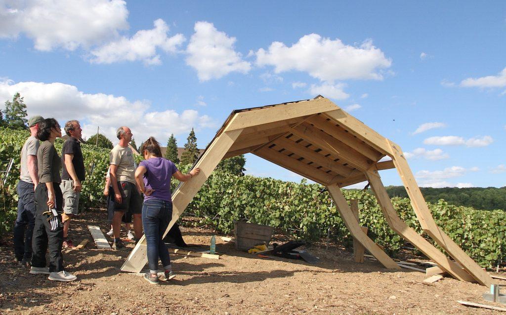 Le circuit touristique des loges de vigne s'agrandit