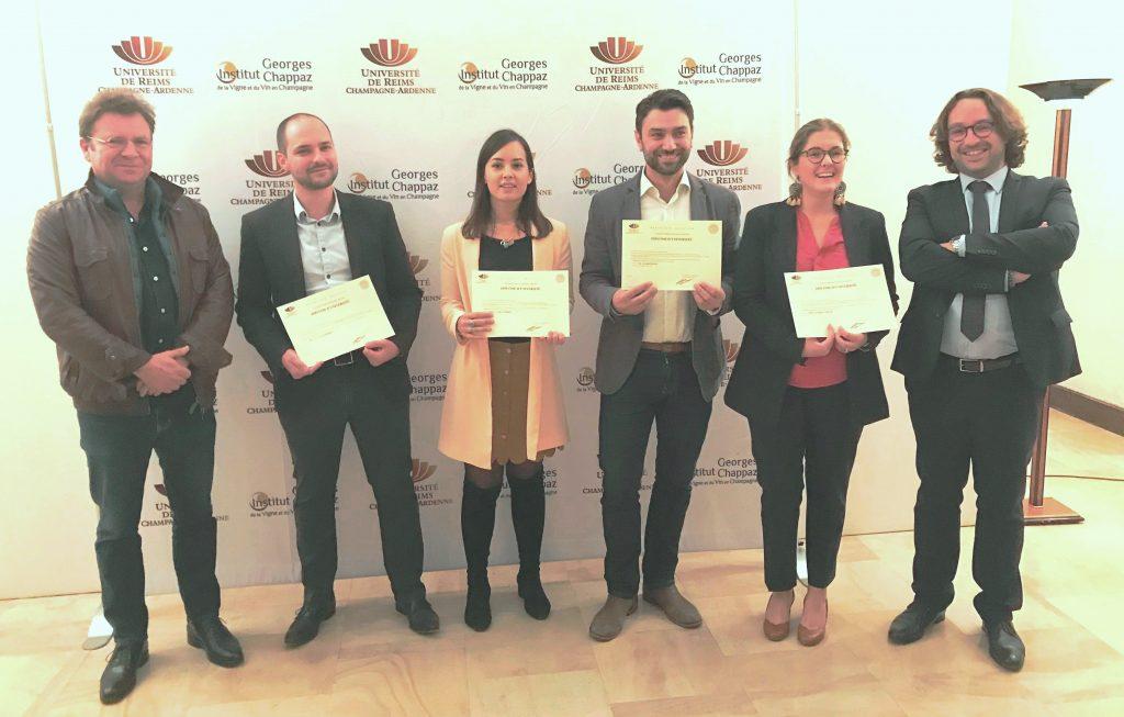 Cinq nouveaux journalistes du vin