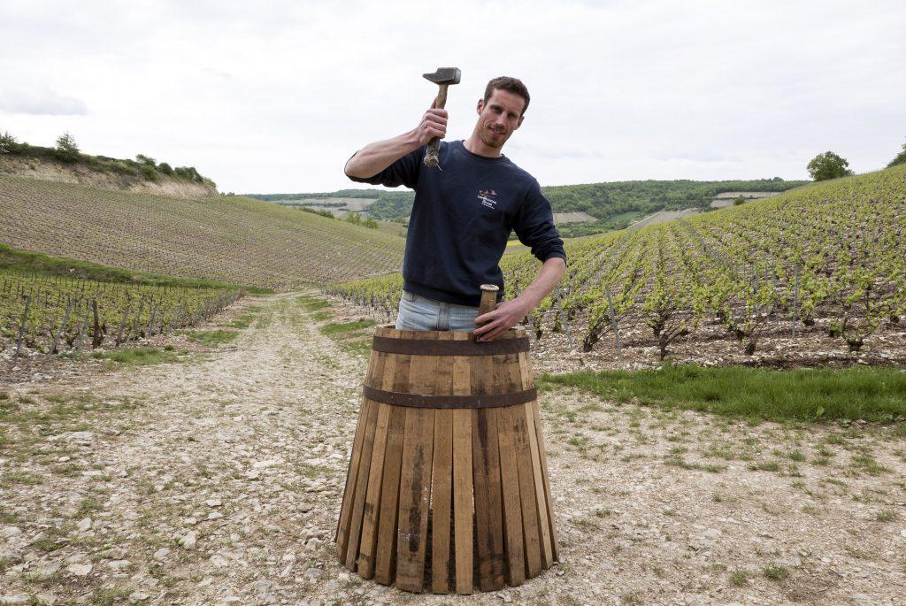 Paul Gonet, Compagnon du devoir tonnelier, et vigneron
