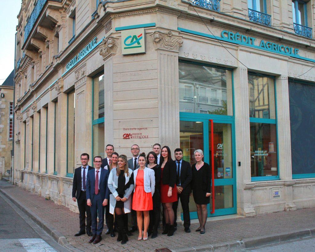 Un espace spécial viticole pour l'agence de Bar-sur-Aube