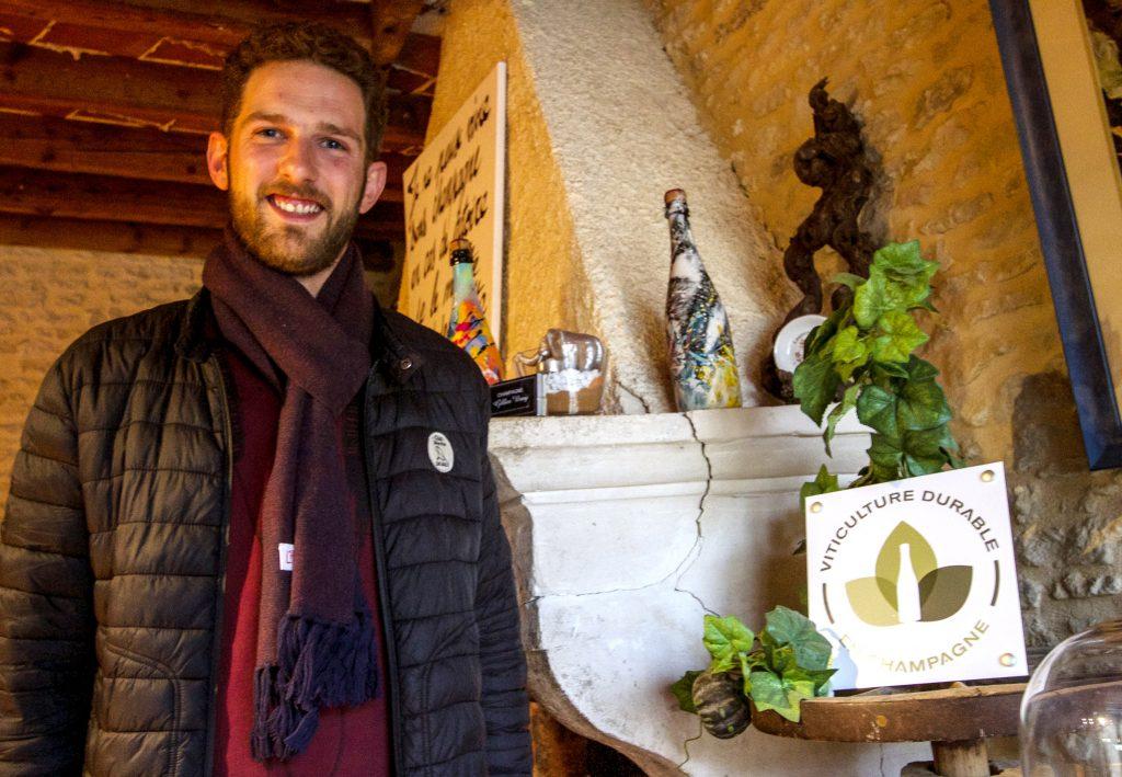 Olivier Jumeau-Virey heureux de bénéficier au quotidien du soutien de professionnels