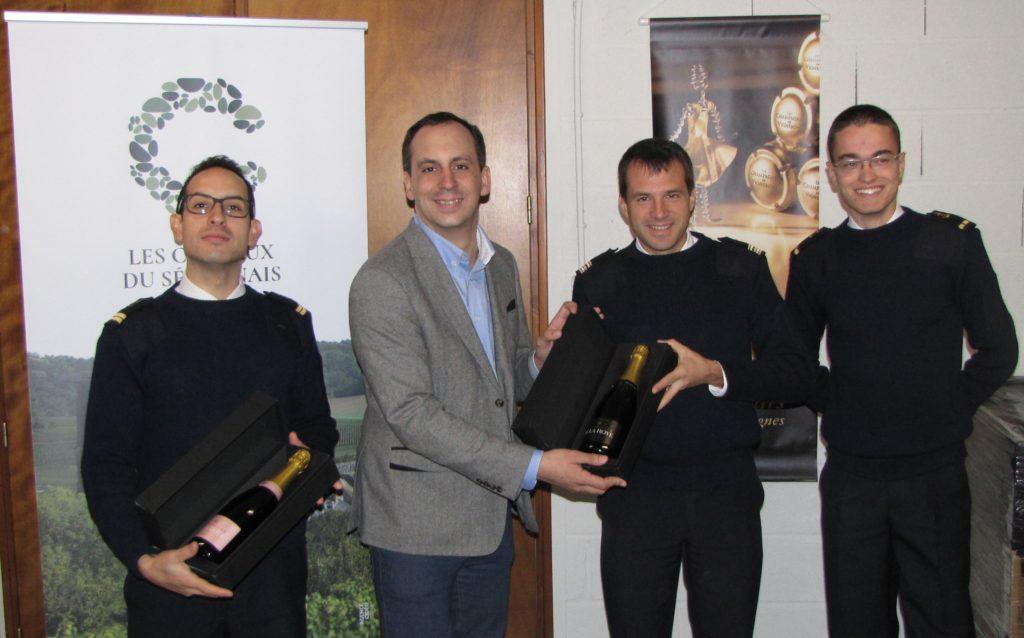 Le Marne ambassadeur du champagne
