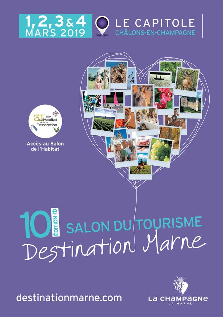 Toute l'offre touristique au salon Destination Marne