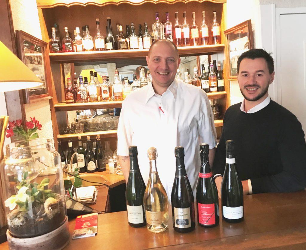 Pas de vignes mais de nombreux champagnes de vignerons