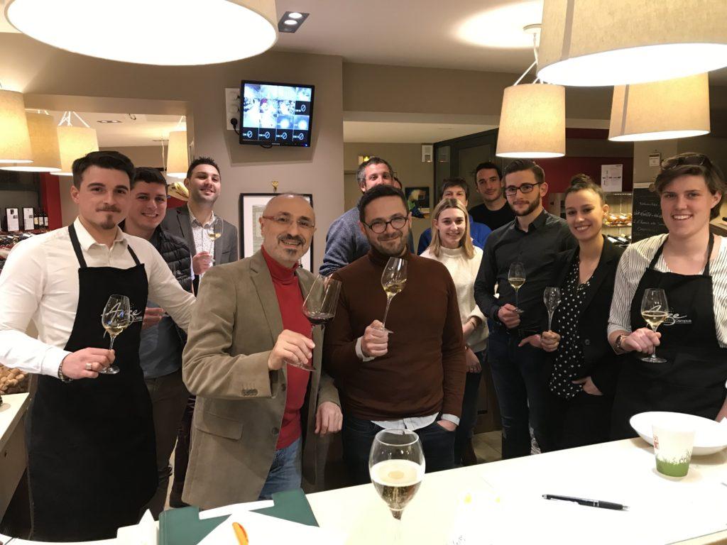 Les influences organoleptiques de la verrerie sur les vins de Champagne