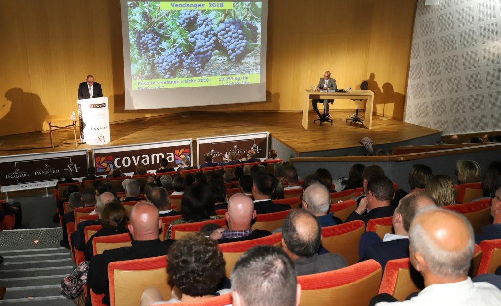 Bons résultats et des avancées en viticulture durable pour la Covama