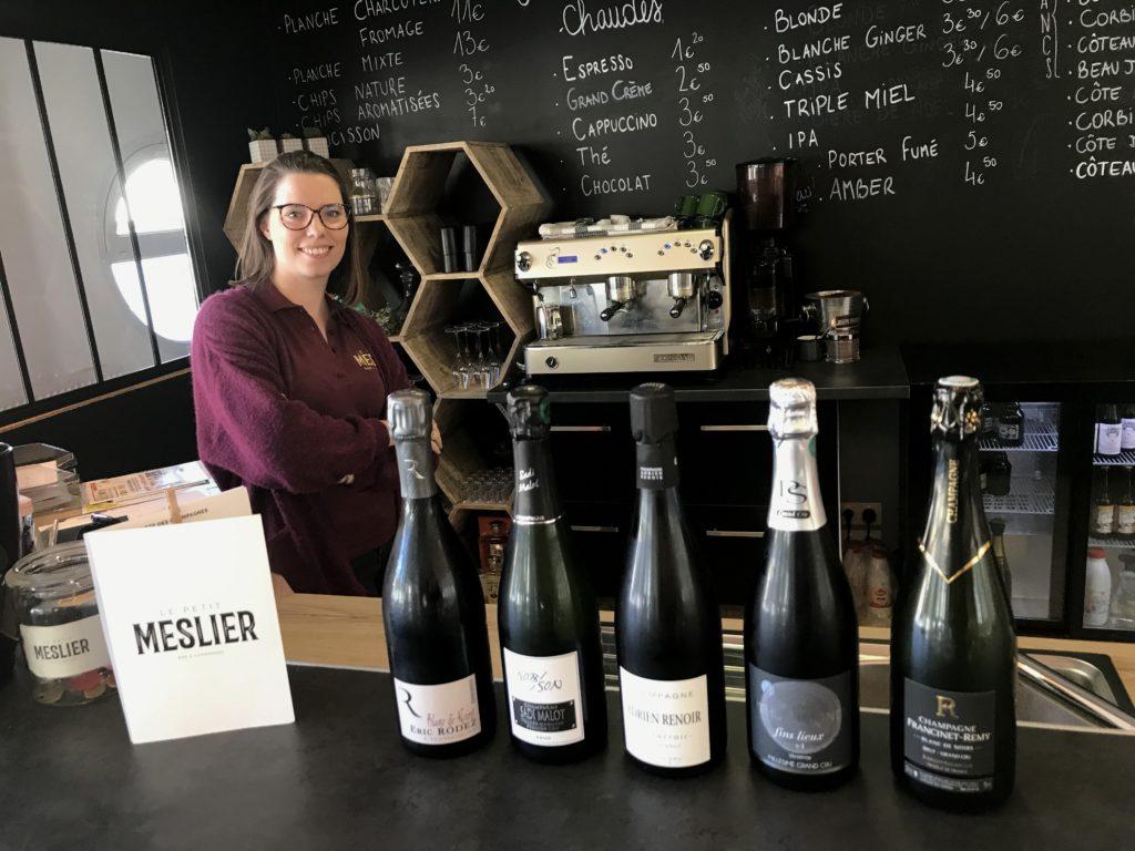 Le Petit Meslier mise sur l'identité vigneronne et les produits du terroir