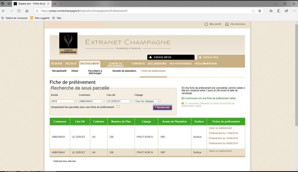 Extranet du CIVC: une application pour plus de simplicité