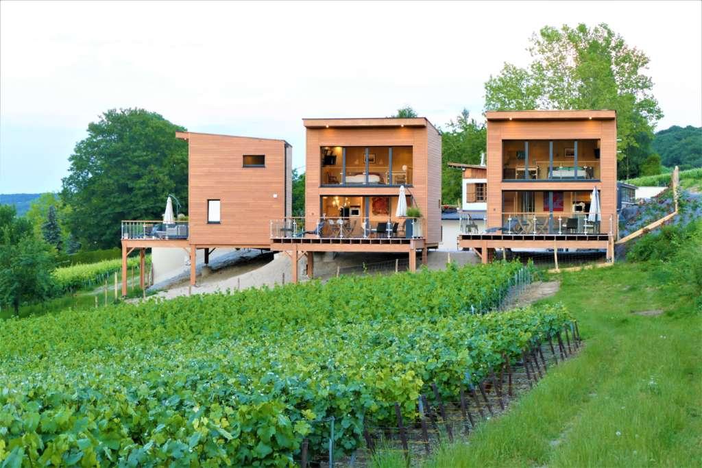 Cottages avec (splendide) vue