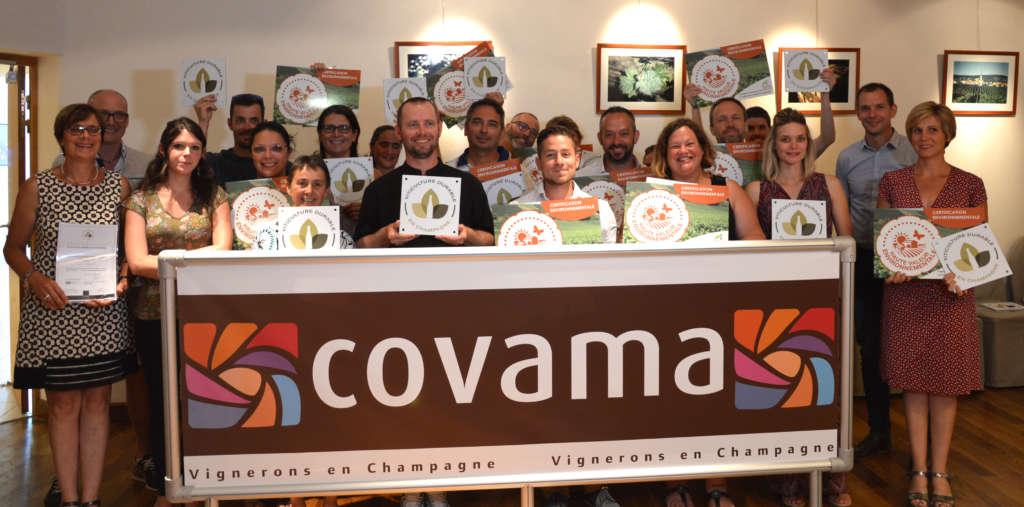 Covama : 18 nouvelles exploitations certifiées par voie collective