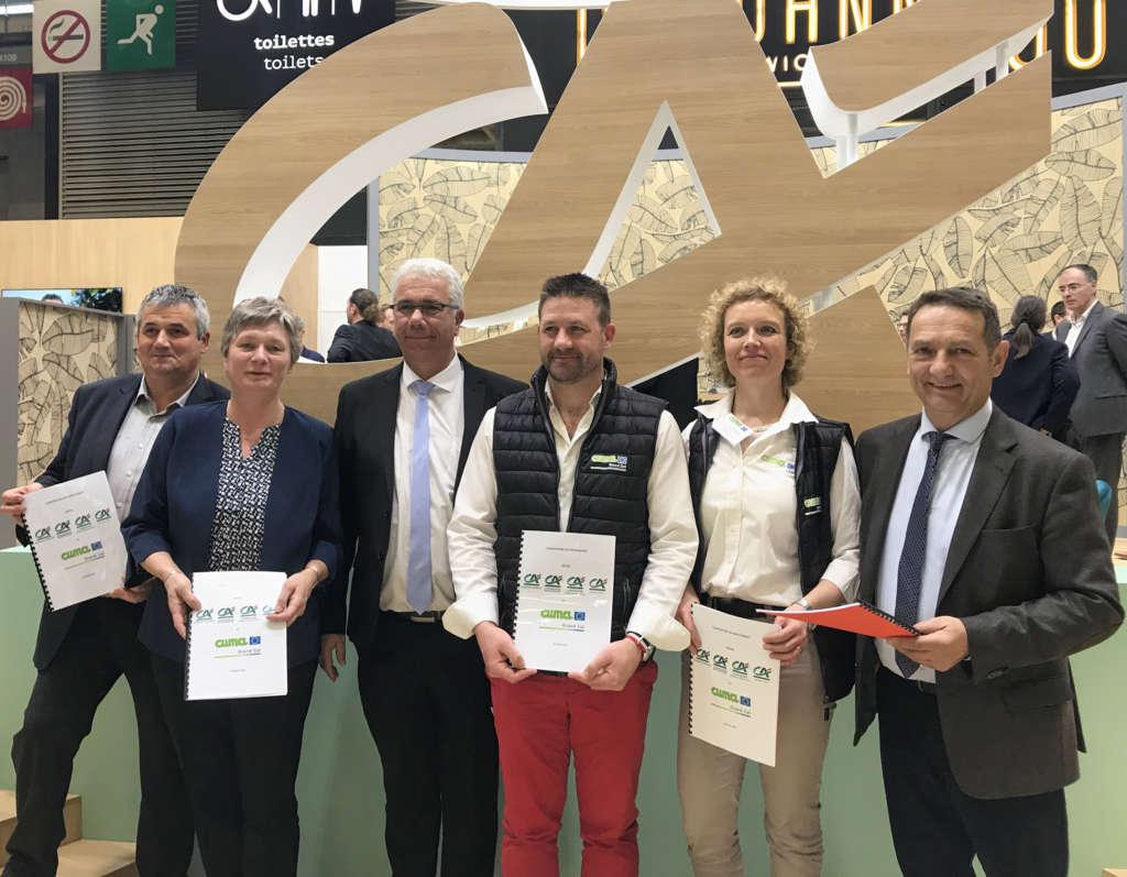 Nouvelle convention de partenariat entre le Crédit Agricole et les CUMA