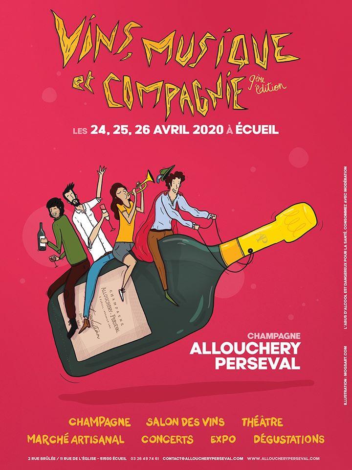 Festival artistique et très gourmand à Ecueil