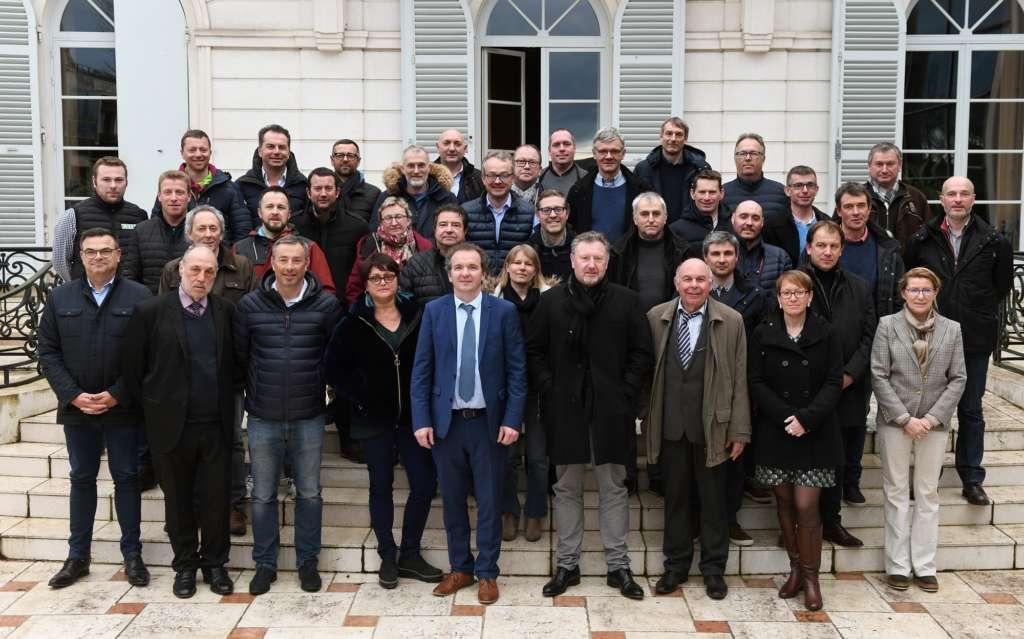 Troisième mandat pour Maxime Toubart  à la tête du SGV Champagne