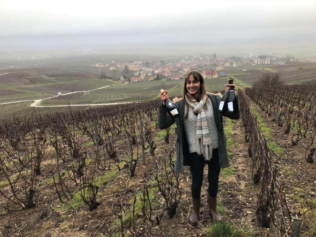 Champagne Virginie Bergeronneau: bel hommage aux femmes