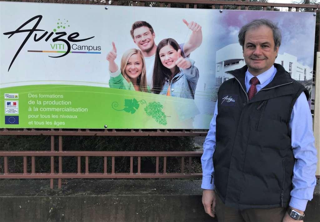 Jean-Luc Prost, directeur d'Avize Viti Campus: «Il faut multiplier les formations pour répondre aux attentes du vignoble»