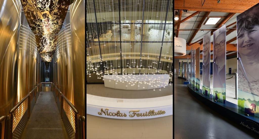 Champagne Nicolas Feuillatte rouvre son circuit de visite