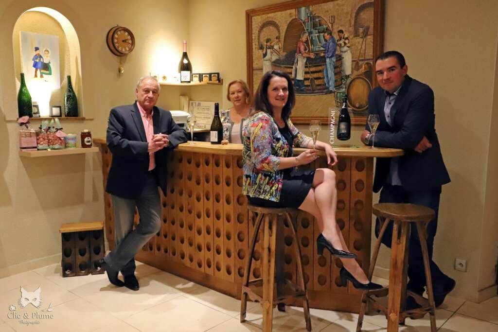 Viticulture et apicultureau Champagne Robert Allait