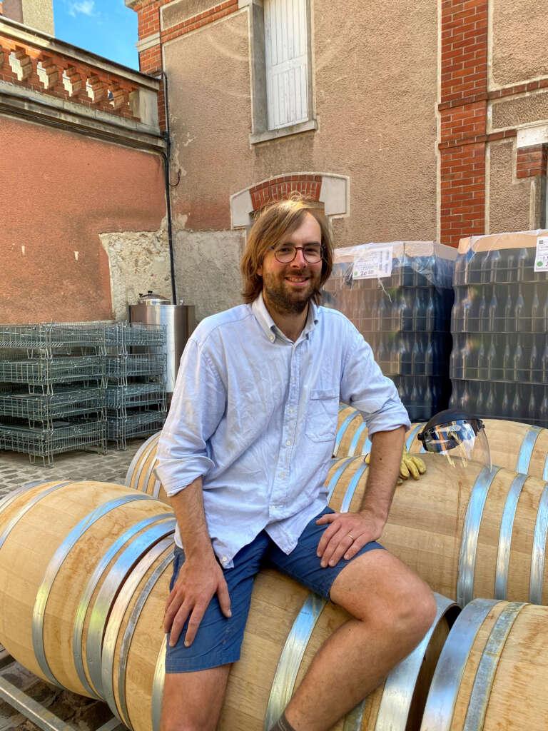 Alexandre Chaillon, nouveau président du Groupe des Jeunes Vignerons