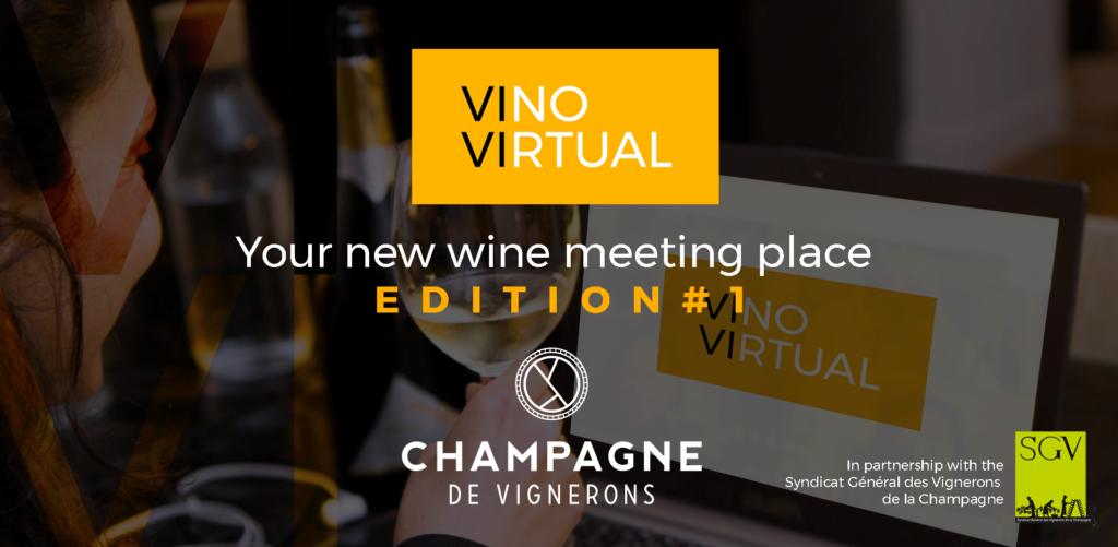 Les Champagnes de Vignerons à la conquête de l'espace virtuel