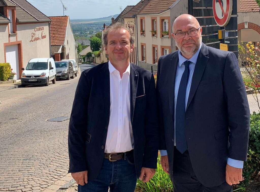 L'ancien ministre Stéphane Travert et 4 députés immergés dans les problématiques champenoises