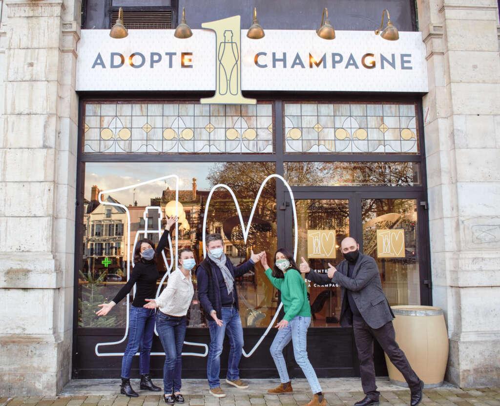 « Adopte 1 Champagne » : une boutique éphémère et associative au cœur de Troyes