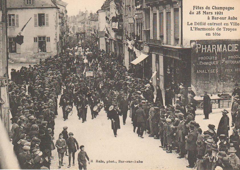 1921-2021 : un événement pour célébrer le centenaire des fêtes du champagne