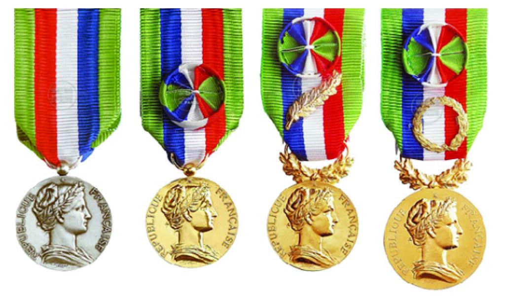 Médailles d'honneur agricole