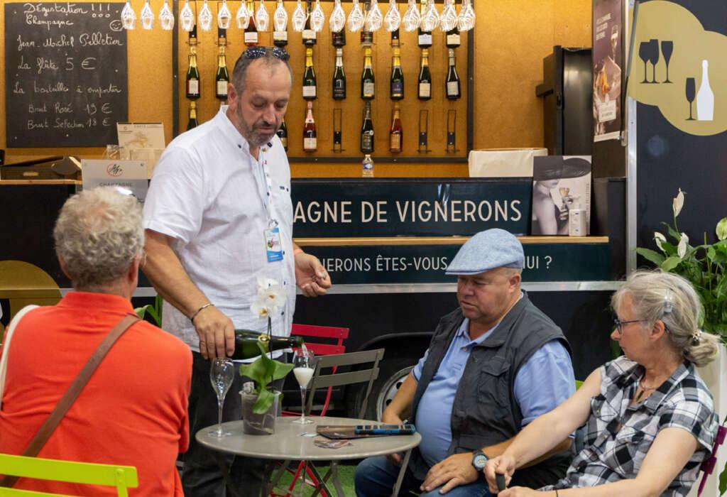 Riche et savoureuse Foire de Châlons pour le SGV